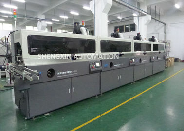 3 Phase Automatic Screen Printing Machine , Perfume Bottle Automatic Screen Printer